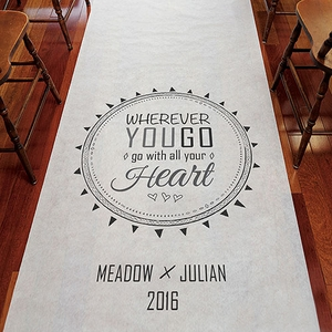 Free Spirit Wedding Aisle Runner