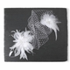 French Net Birdcage Visor Veil with Two Feather Fascinators