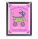 Girls Personalized Carriage Room Sign