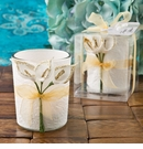 Gold Calla Lily Votive Candle Holder