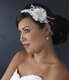 Gold Ribbon Style Feather Head Piece