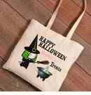 Halloween Witches Potion Trick-or-Treat Canvas Bag