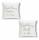 Handsome & Beauty Couples Throw Pillows