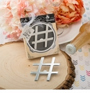 Hashtag Love Metal Bottle Opener