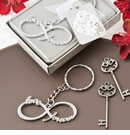 Infinity Design Silver Metal Keychain
