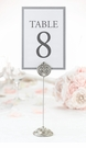 Jeweled Table Markers Set of 4