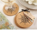 Let the Journey Begin Cork Coasters