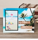 Life is Better Beach Glass Photo Frame