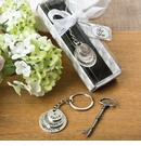 Love Hope and Faith Stacked Disc Keychain