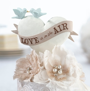 Love Is In the Air Caketop