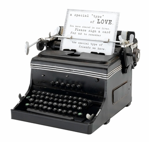 Mini Typewriter Replica