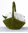 Moss Flower Basket