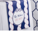 Nautical Bridal Personalized Table Runner