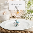 Nautical Themed Sail Boat Place Card Holder