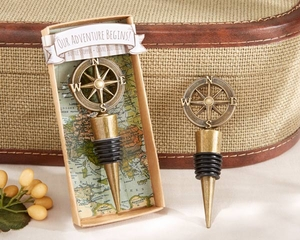 Our Adventure Begins Bottle Stopper