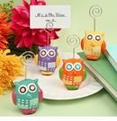 Owl Design Placecard Photo Holder