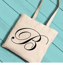 Personalized Initial Tote