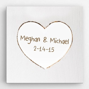 Personalized Love & Romance Canvas