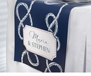 Personalized Nautical Table Runner