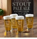 Personalized Premium Brew Pub Glass Set