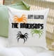 Personalized Pumpkins Halloween Throw Pillow