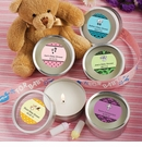 Personalized Scented Round Candles