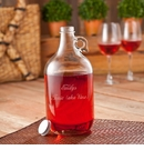 Personalized Wine Jug Set Includes 2 Wine Glasses
