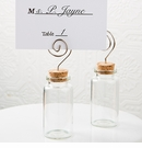Plain Glass Jar With Place Card Holder