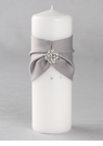 Platinum Celebration Pillar Candle