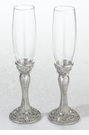Regal Elegance Jeweled Toasting Glasses