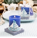 Sail Boat Votive Candle Holder