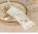 Set of 6 Ivory Lace Favor Bags