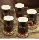 Set of Five Personalized 25oz Mugs