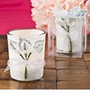 Silver Calla Lily Votive Candle Holder