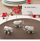 Silver Indian Elephant Place Card