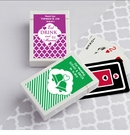 Simply Stylish Personalized Playing Card Favors