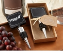 Sip & Scribble Chalkboard Bottle Stopper