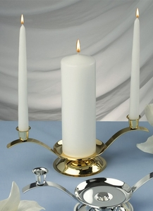 Small Unity Candle Holder