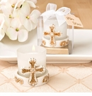 Vintage Cross Themed Candle Votive