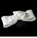 White Pearl Child's Bow