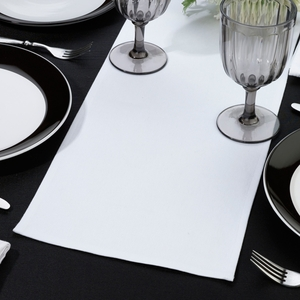 White Table Runner - Blank