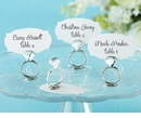 With This Ring Jeweled Place Card/Photo Holder (Quanity of 6)