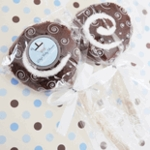 Brown Baby Shower Favors