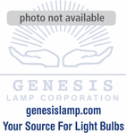 100A/SB Silver Bowl, Medium Base Incandescent Light Bulb (E26)