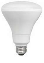 10W LED Elite Series Dimmable BR30 24K Light Bulb - TCP Brand