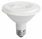 10W LED Elite Series Non Dimmable Short Neck  27K Par30 Light Bulb - TCP Brand