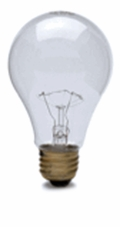 116W A21 125/130V Light Bulb - 30314 Hytron Airport Obstruction Lighting