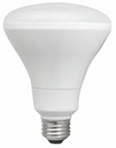 12W LED Elite Series Dimmable BR30 24K Light Bulb - TCP Brand