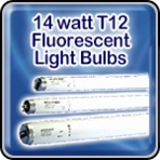Sylvania 14 watt T12 Fluorescent Light Bulbs