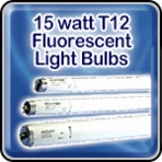 Sylvania 15 watt T12 Fluorescent Light Bulbs
